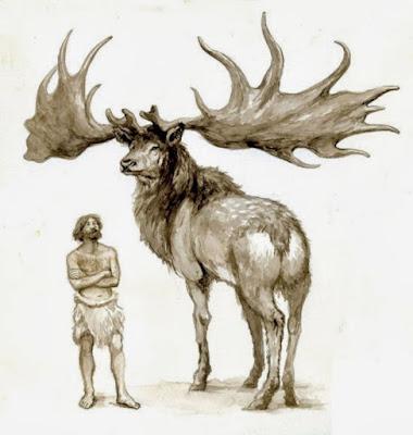 Megaloceros-Giganteus-antigo-alce-extinguido
