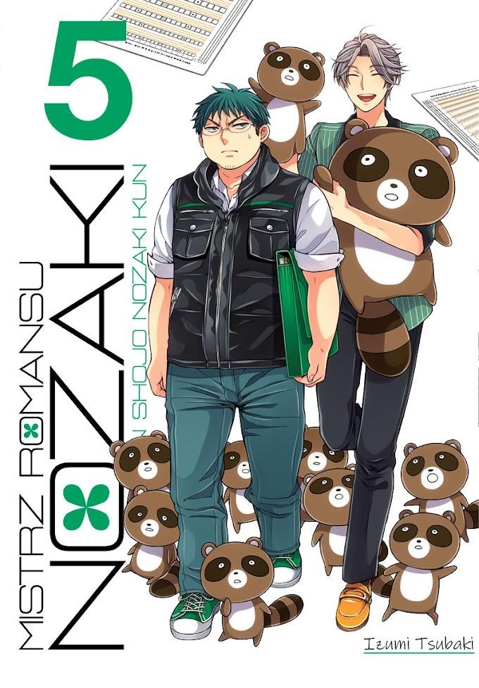 Szkolny romans, jaki jest, każdy widzi - recenzja mangi Mistrz romansu Nozaki (tomy 4-5)