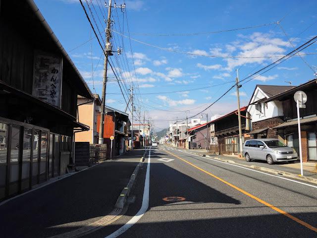 松井田 中山道 宿場町