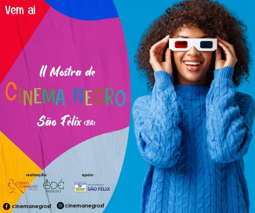 Vem aí: II Mostra de Cinema Negro de São Félix