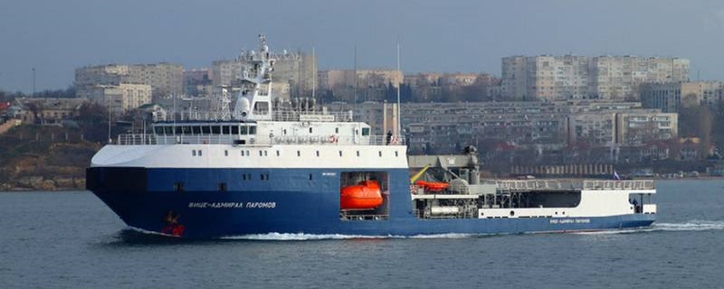 Чорноморський флот РФ отримав малий морський танкер