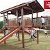 No mês de aniversário Santa Rita ganha mais um playground de madeira
