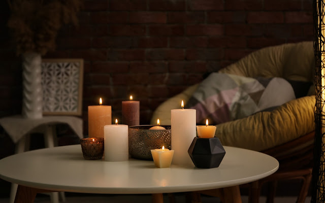 Corner of Your House with Candles, Home Decor, Home, Candle, Living room, kitchen, bathroom, dining room, bedroom, Lifestyle
