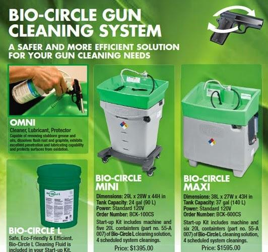 Hoffman's Gun Center: Bio-Circle Gun Cleaning System