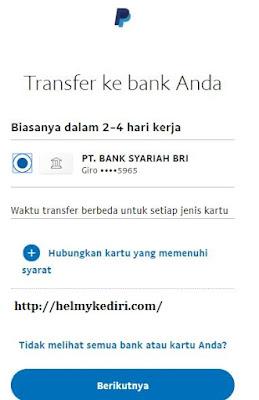 Menarik saldo paypal ke bank lokal1
