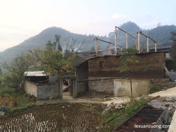 Homestay ở làng dân tộc Lô Lô, xã Lũng Cú