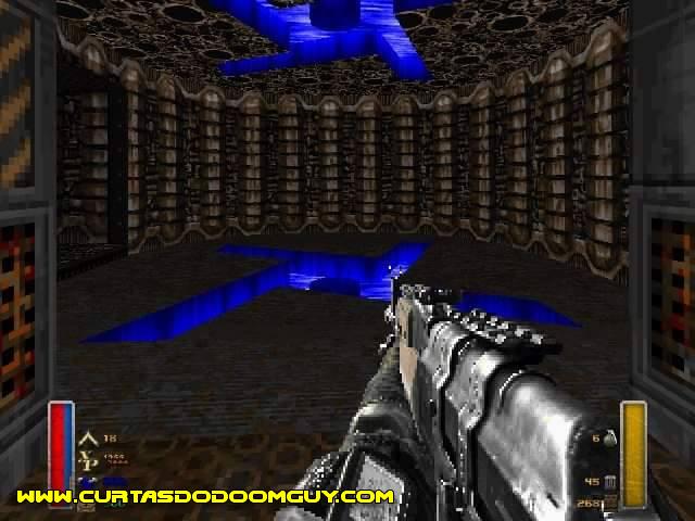 Símbolo de terror e tirania em mod pra Doom
