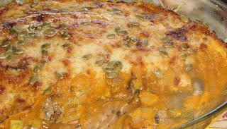 ~ Crema de calabaza especiada con queso semi de Menorca ~ Crema de carbassa, especies i formatge semi de Menorca ~