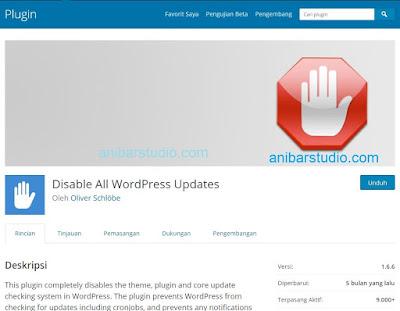 Cara Lengkap Hilangkan Notifikasi Update di WordPress