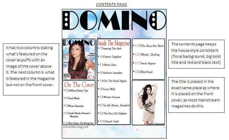 GCSE Media Studies: Magazine Evaluation