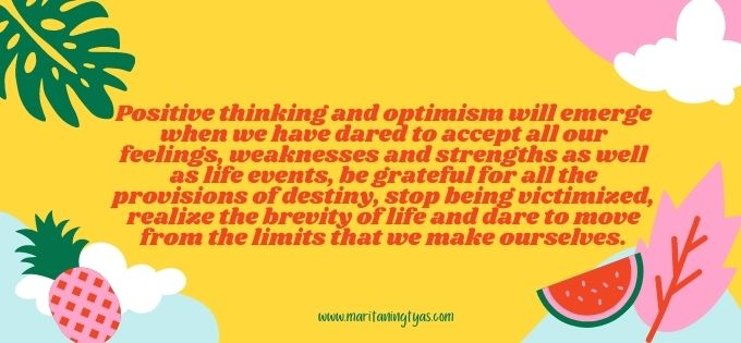 how to think positiively