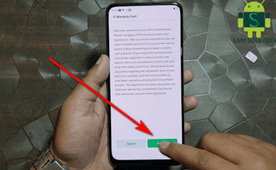How To Register Oppo E-Warranty Card Succeeded by STC Simcard