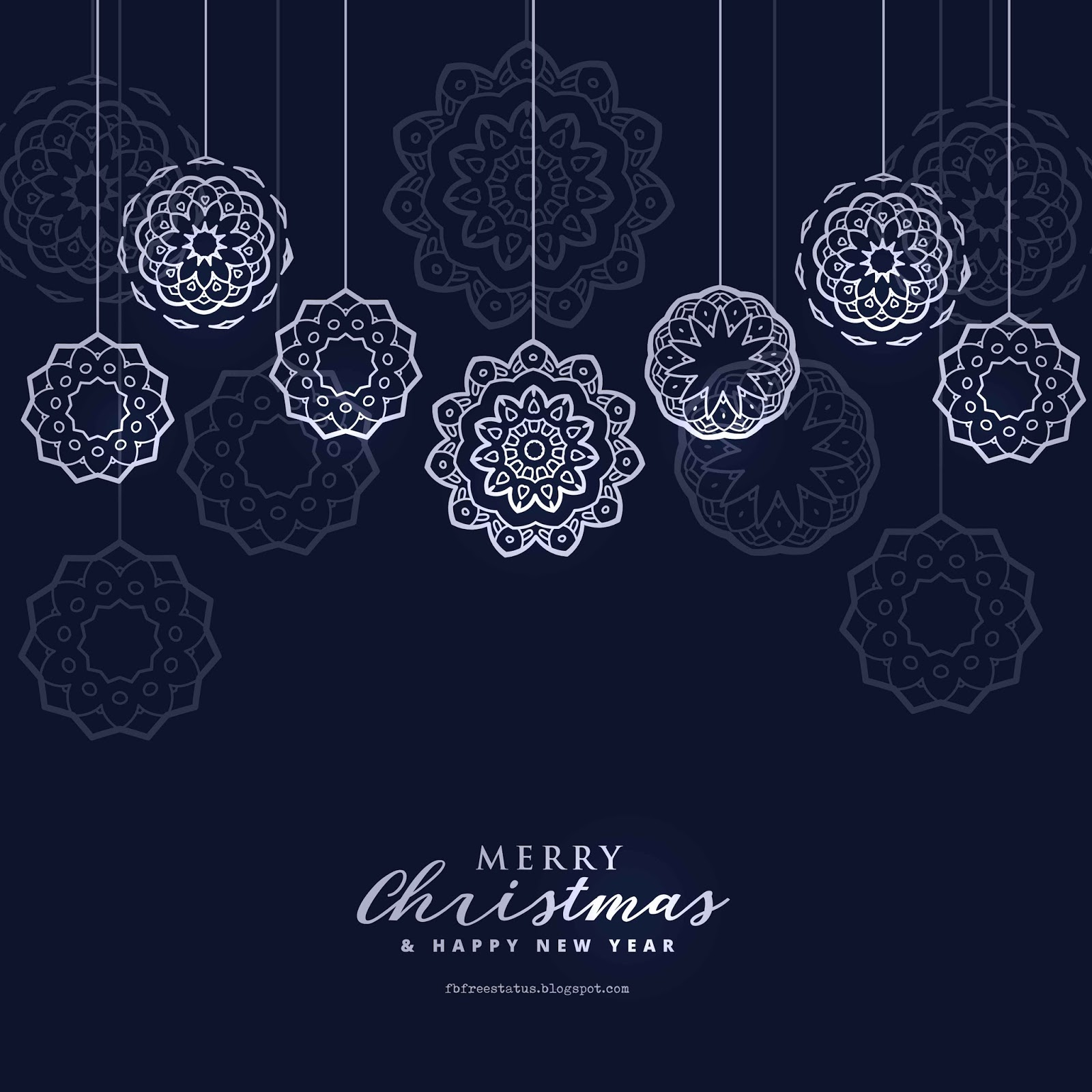 Blue Christmas Wallpaper Download Free