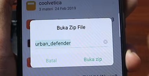 Font All Oppo Zip