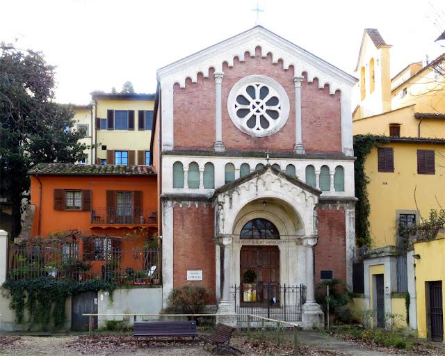 Lutheran Evangelical Church by Riccardo Mazzanti, Lungarno Torrigiani, Florence
