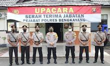 Sejumlah Pejabat Polres Bengkayang Dimutasi, Kapolres Pimpin Sertijab
