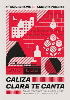 Concierto de Caliza y Clara te canta en Sala Juglar