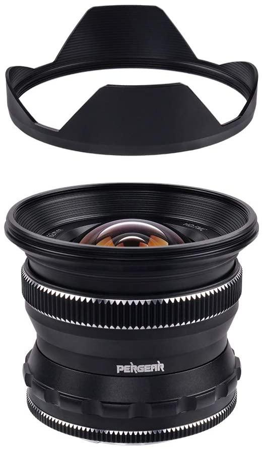 Съемная бленда объектива Pergear 12mm f/2.0