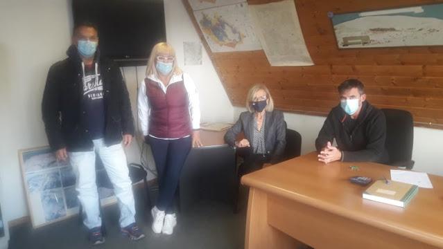 Συνάντηση στο Χιονοδρομικό Κέντρο Παρνασσού