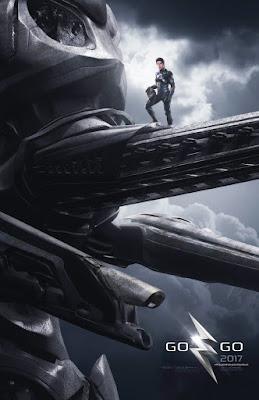 POWER RANGERS Zord Teaser Poster, Black Ranger