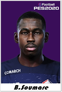 PES 2020 Faces Boubakary Soumaré by Shaft