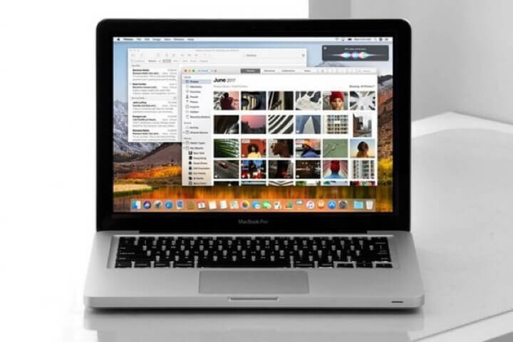 Halaman Itunes di Macbook Air