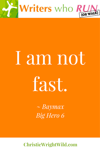 """I am not fast."" ~ Baymax, Big Hero 6 