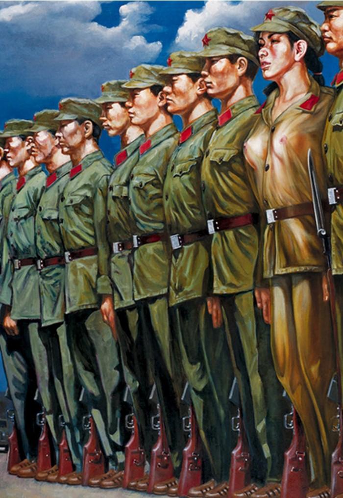 Девушки из Народно-освободительной армии. Hu Ming 7