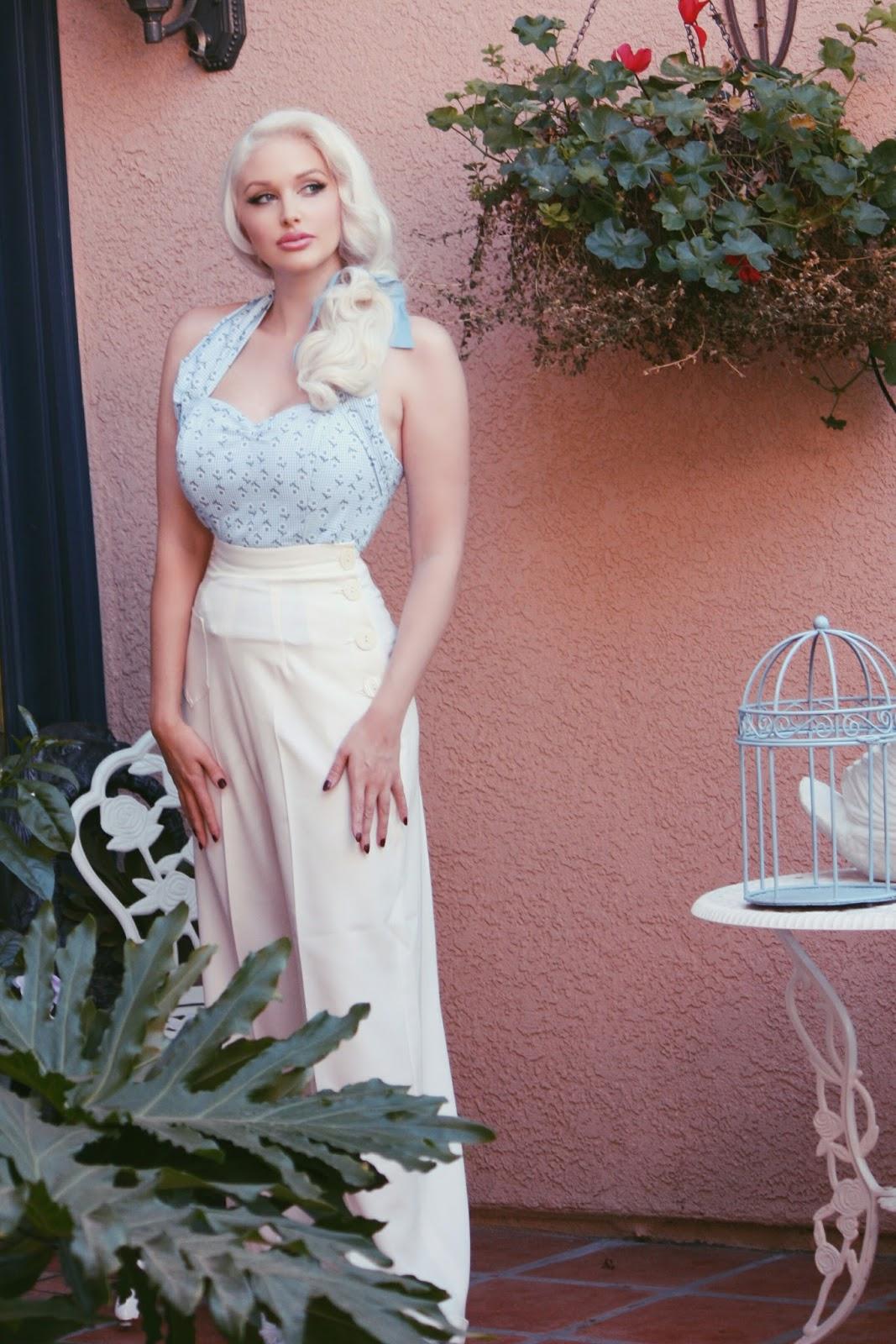 Pin Up Style Wedding Dress