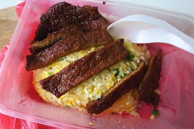 Chef Wang Fried Rice (王厨), pork ribs fried rice