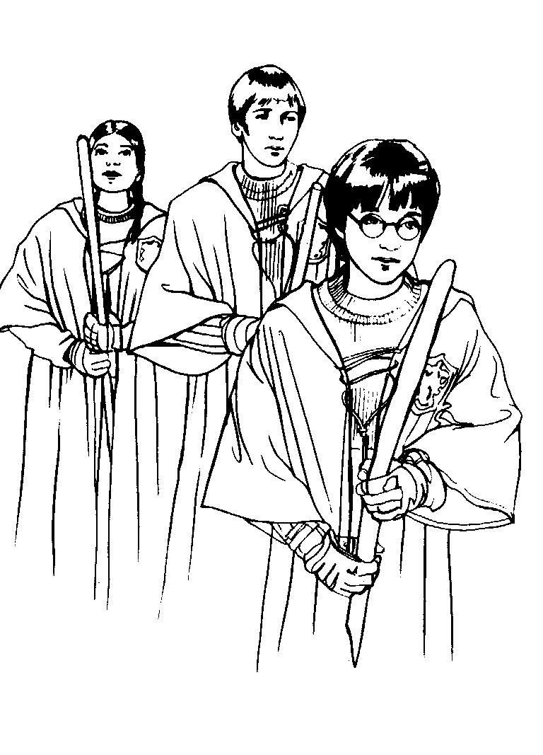 Harry Potter Und Der Gefangene Von Askaban Ausmalbilder