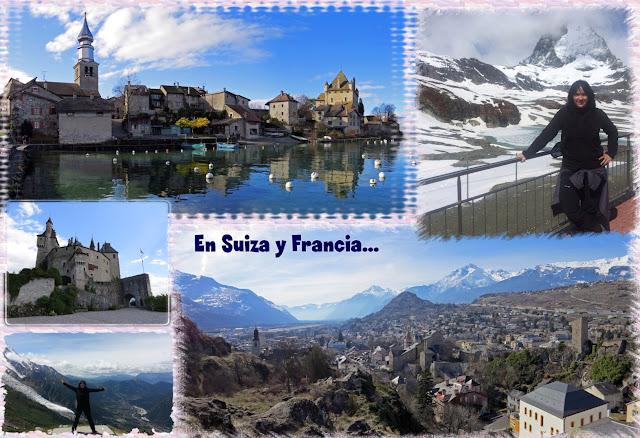 Por Suiza y Francia...