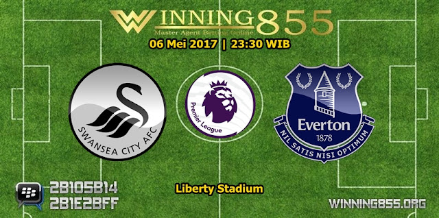 Prediksi Skor Swansea City vs Everton 06 Mei 2017