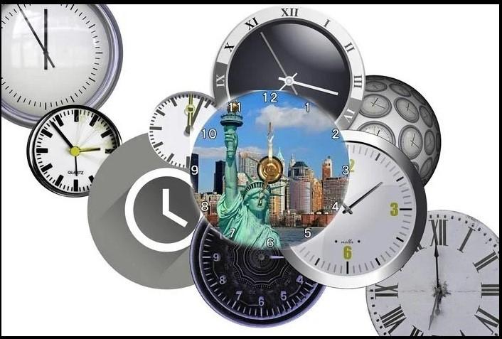 Múi giờ ở Mỹ khác với Việt Nam