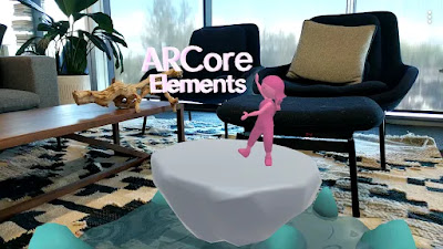 ARCore Elements interface
