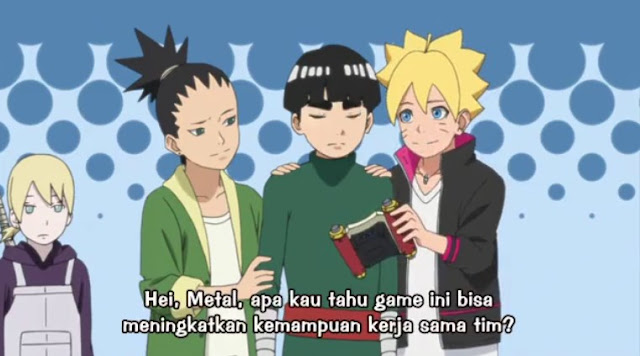 Review Boruto Episode 3 dan Kumpulan Foto Boruto Episode 3