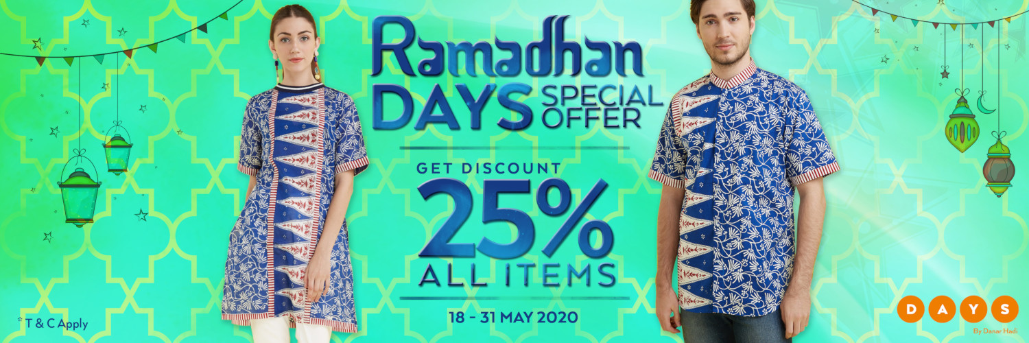 Promo Danar Hadi Terbaru Special Offer Discount 25% All Item!