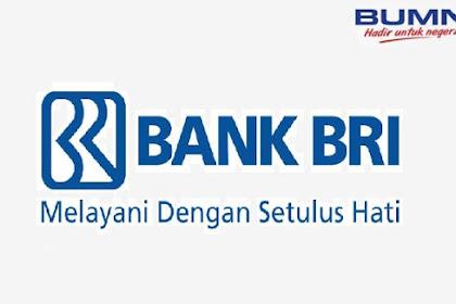 Lowongan Kerja Frontliner dan Back Office PT Bank Rakyat Indonesia (persero) Juni 2019