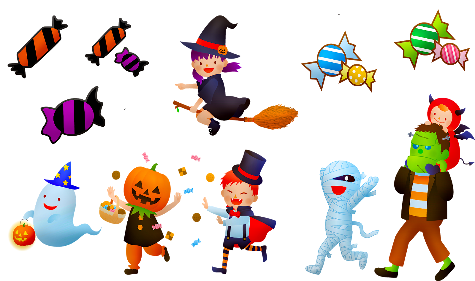 get to know trick or treat
