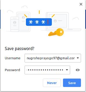Cara Melihat Password yang Tersimpan di Akun Google Kita