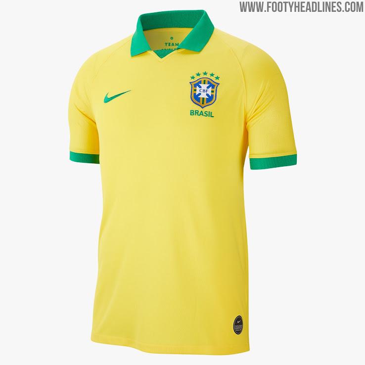 0c67c228f88 Nike Brazil 2019 Copa America Home Kit Revealed - Footy Headlines