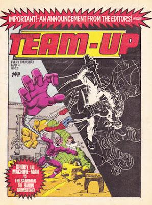 Team-Up #25, Machine Man and Spider-Man
