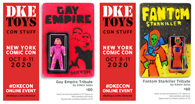 New York Comic Con 2020 Exclusive Sucklord Gay Empire & Killer Bootlegs Phantom Starkiller Tribute Wood Figures by Edwin Salas x DKE Toys