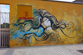 Sunday Street Art : Alice Pasquini - passage Joliot-Curie - Vitry-sur-Seine