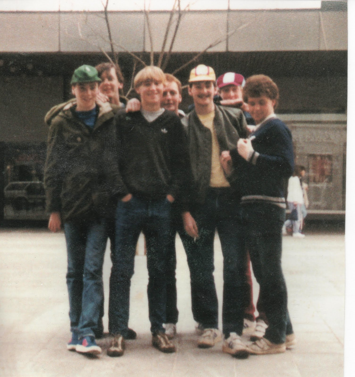 EIGHTIES CASUALS: 30 YEARS AGO TODAY in GERMANY
