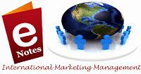 International Marketing management Subject Notes