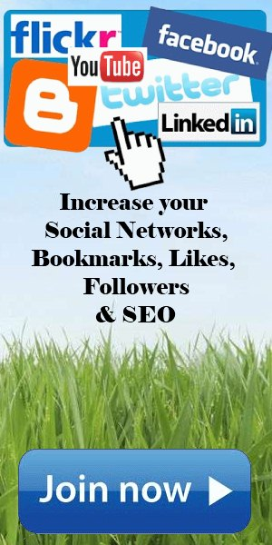Increase your likes on facebook, twitter, instagram with addmefast