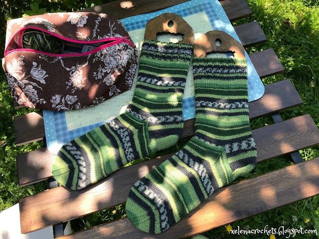 связать носки из Alize Superwash