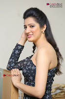 Telugu Actress Richa Panai Stills in One Shoulder Floral Long Dress at Rakshaka Bhatudu Movie Interview  0258.JPG