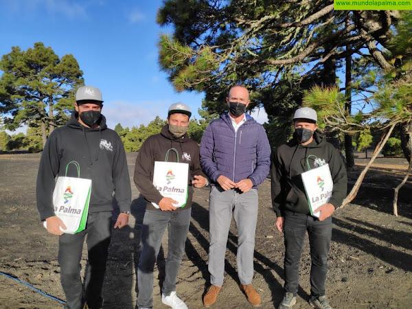 La Palma uno de los dos lugares elegidos en Canarias para  un rodaje publicitario que se proyectará a nivel internacional